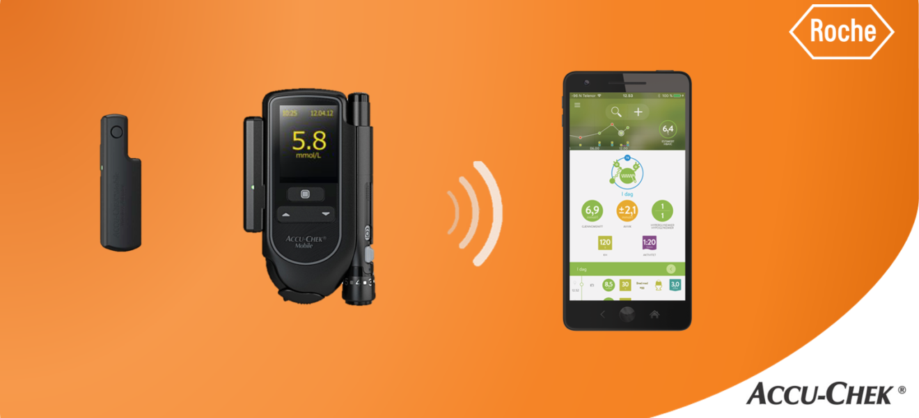Nyhet! Nå kan du også koble Accu-Chek Mobile til mySugr