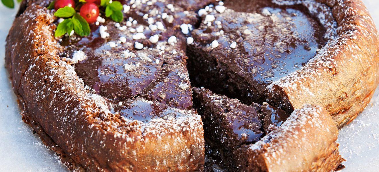 Nydelig konfektkake fri for sukker, gluten og nøtter