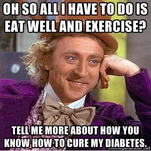 spist for mye sukker