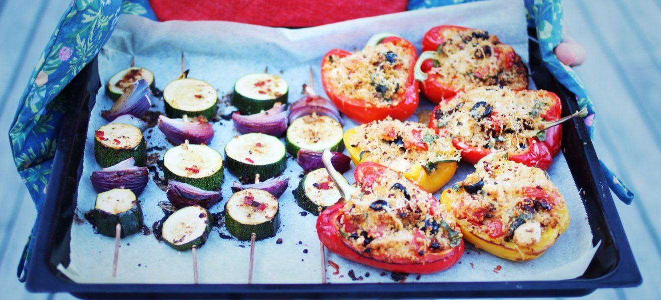 Sommerens favoritt: Fylt paprika!