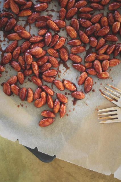 brente mandler sukkerfrie hjemmelaget