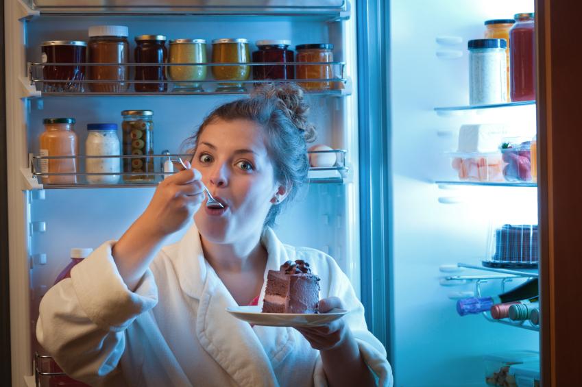 Slik ser mitt kjøleskap ut