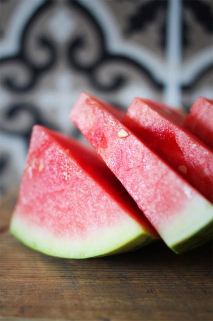 grillet vannmelon