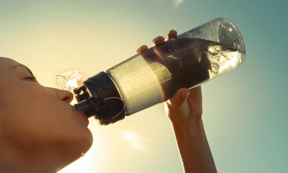 Drikk mer vann i sommervarmen!