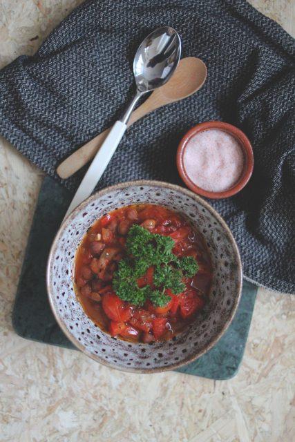 Marokkansk tomatgryte