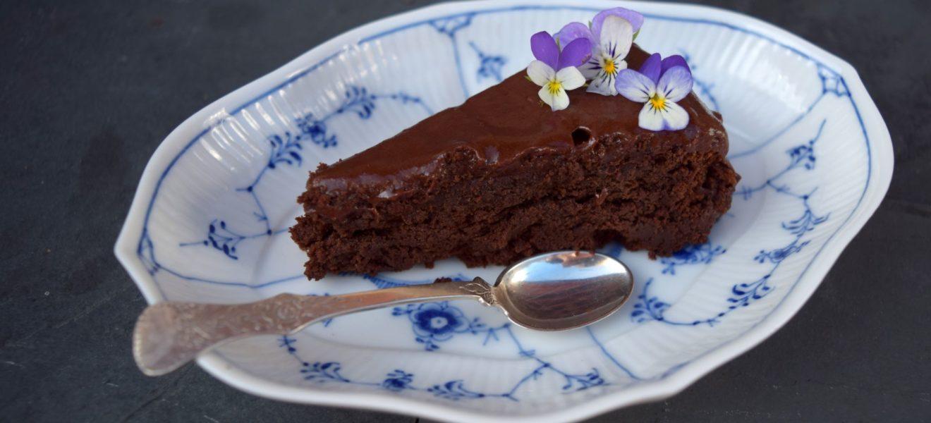 Sjokoladekake uten mel