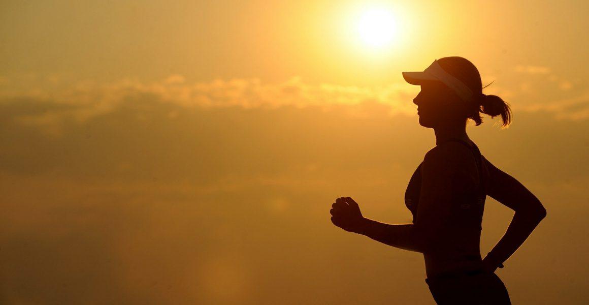 løpe jogge solnedgang utendørs trening