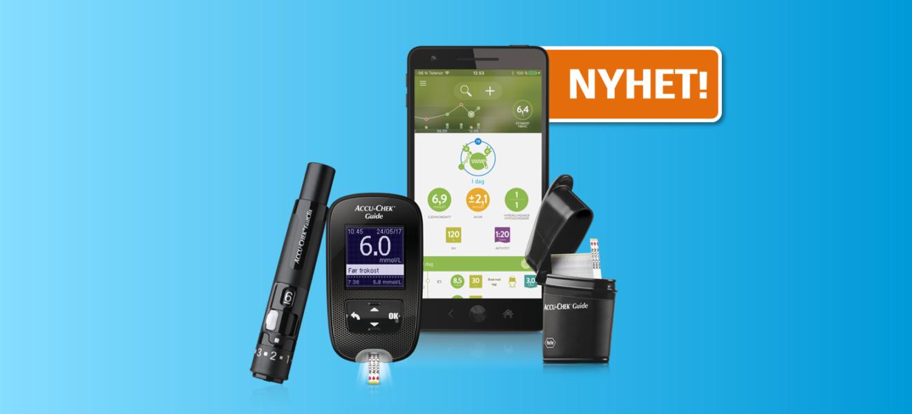 Accu-Chek Guide – nå integrert med verdens mest brukte diabetesapp, mySugr.