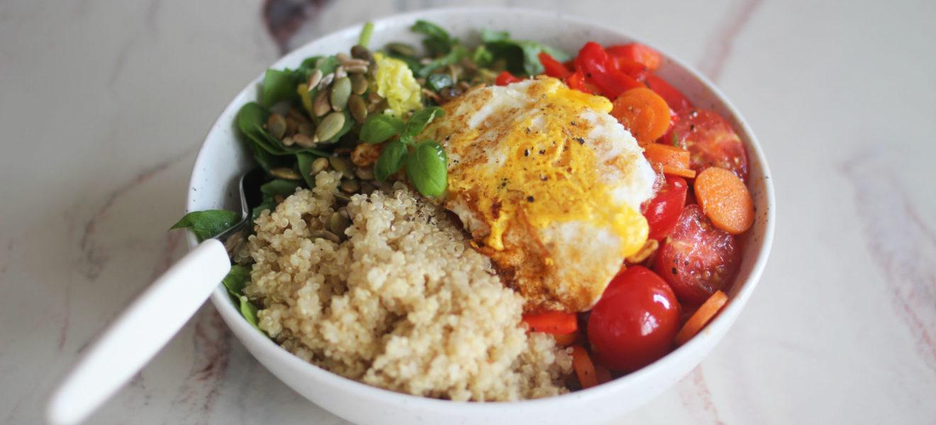 Vekk appetitten med en fargerik lunsjsalat