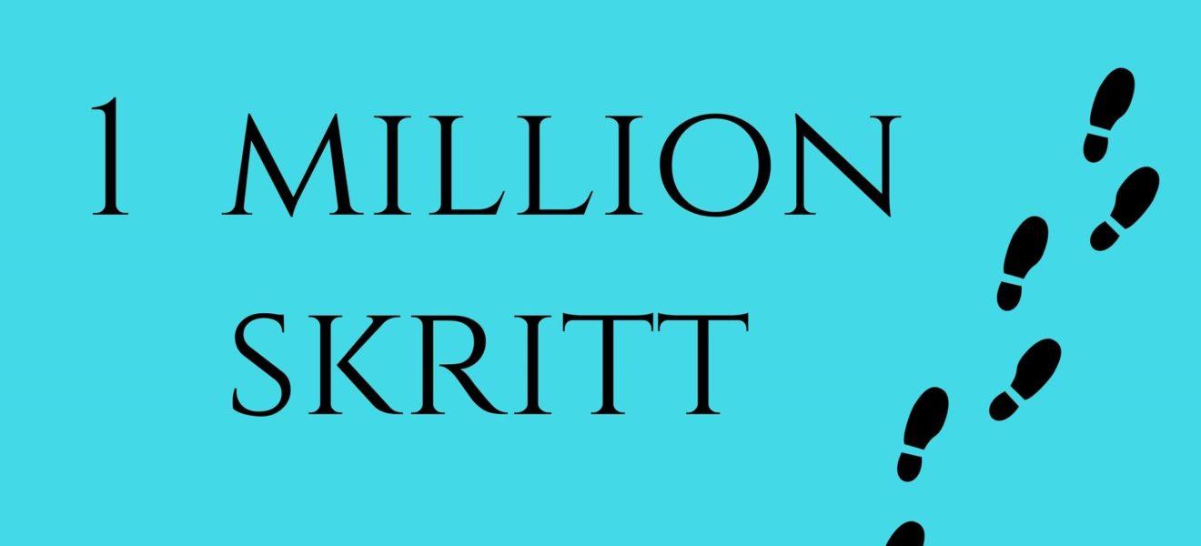 Vil du bli med å gå 1 million skritt?