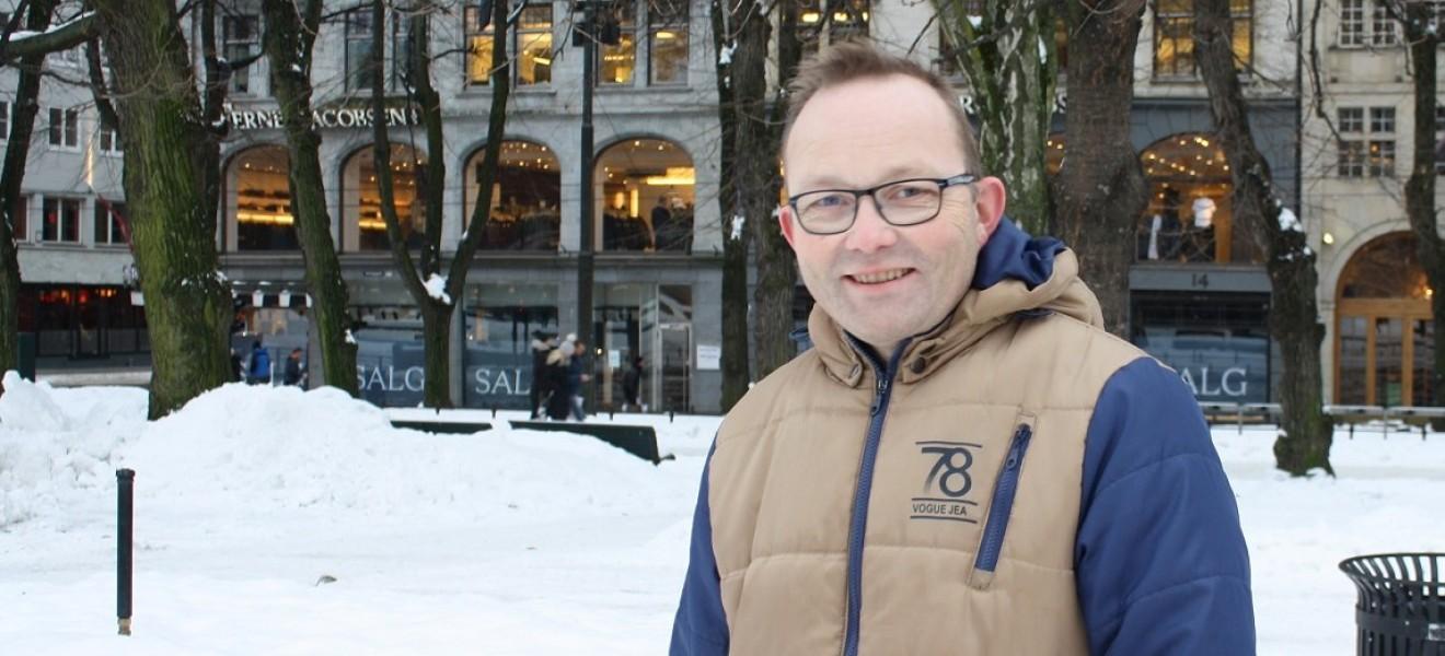 Skritt for skritt går Kjell Arild seg til et bedre liv