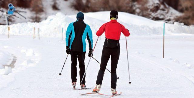 trener ski sammen