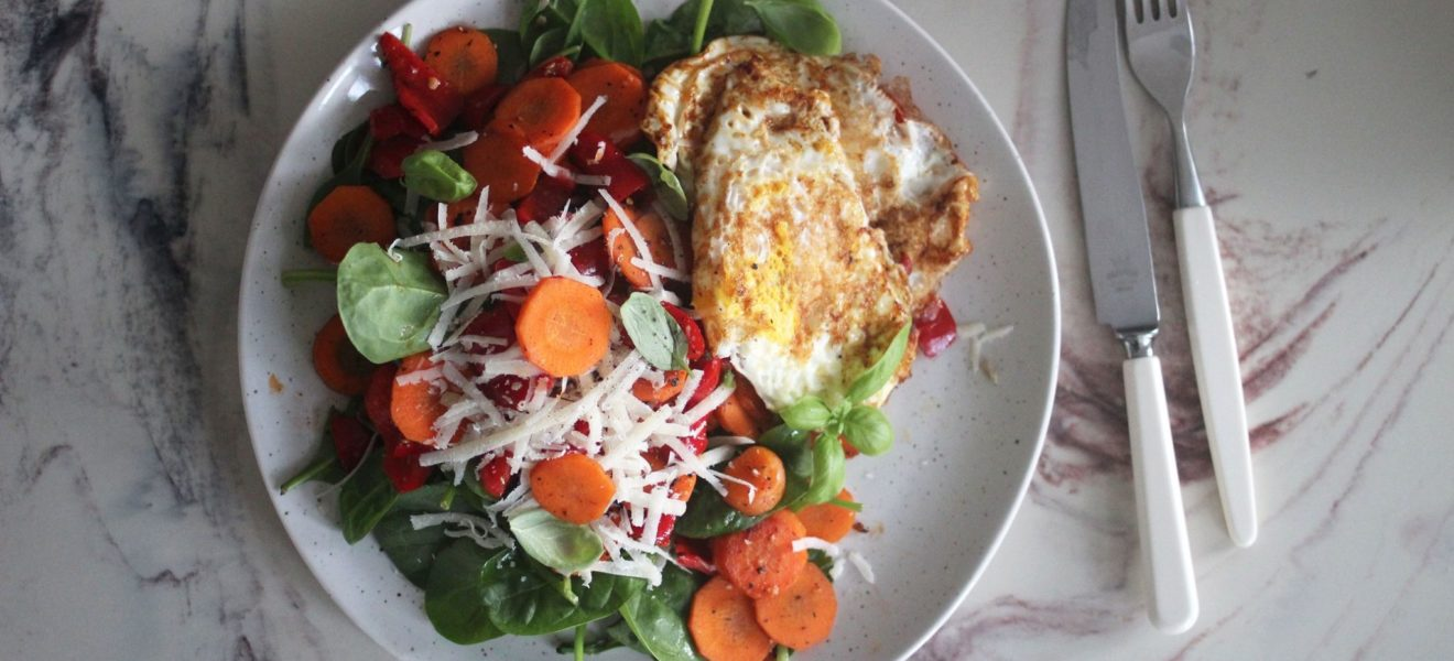 Et stekt egg er også middag!