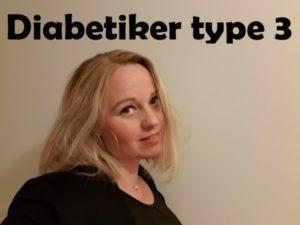 pårørende type 3 diabetiker