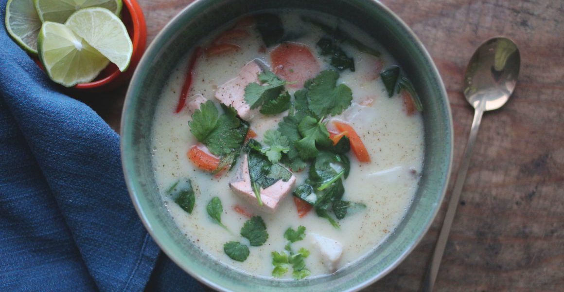 asiatisk fiskesuppe