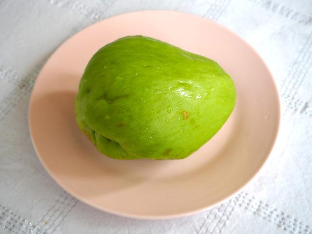 gratinert eksotisk frukt