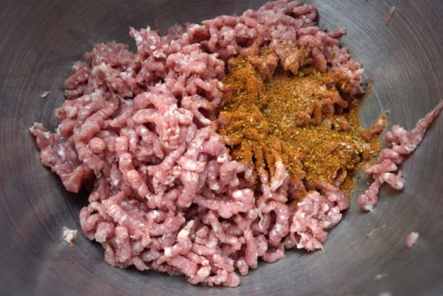 Saftige lammeburgere