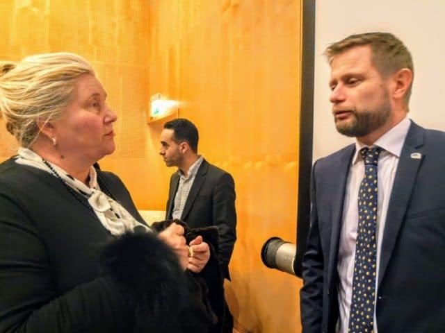Helseminister Bent Høye