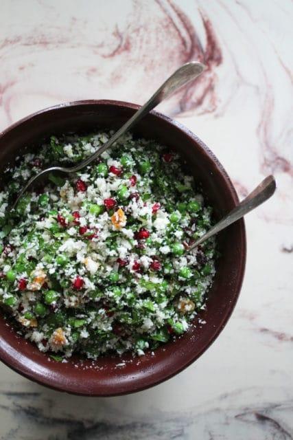 tabbouleh med blomkål-couscous