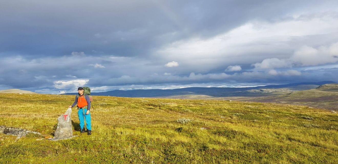 Kjell Arild går Norge på langs, fra Lindesnes til Nordkapp