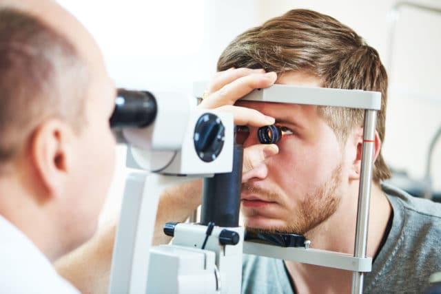 Sjekk øynene hos lege, senkomplikasjoner som rammer øynene er ikke uvanlig ved diabetes