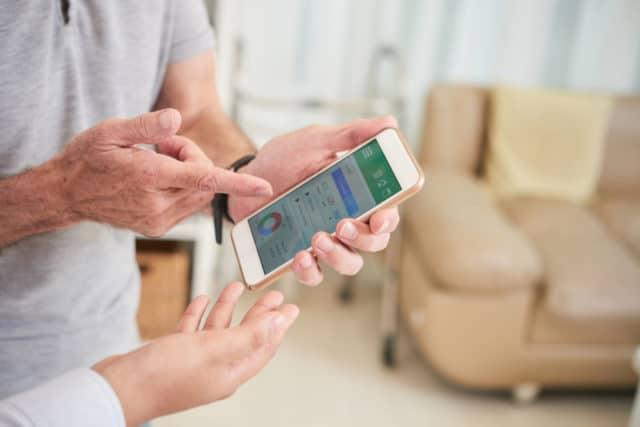 closed loop system styres av en app på telefonen