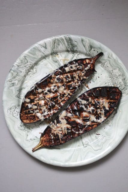 ovnsbakt aubergine