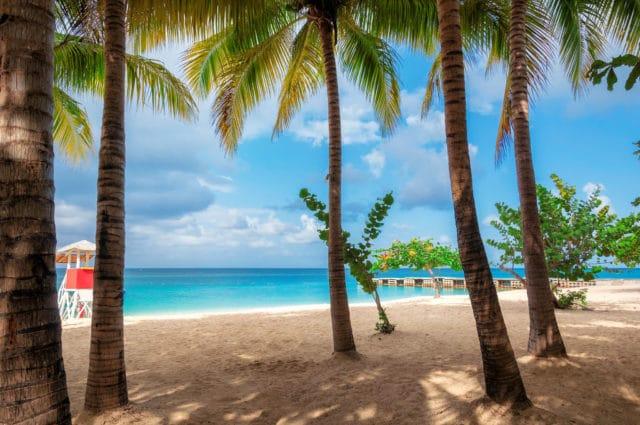 strand på jamaica, ferie med diabetes