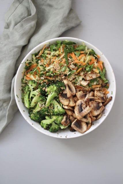 brokkolibowl - en hverdagsmiddag full av friske smaker