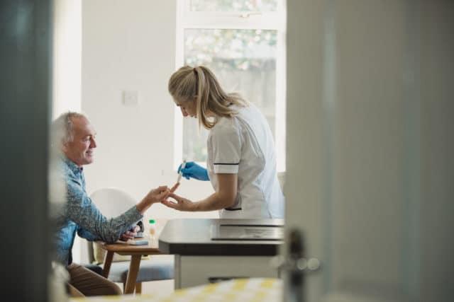 blodsukkerreguleringen vil aldri bli perfekt, snakk med helsepersonell om hvilket målområde du bør sikte mot