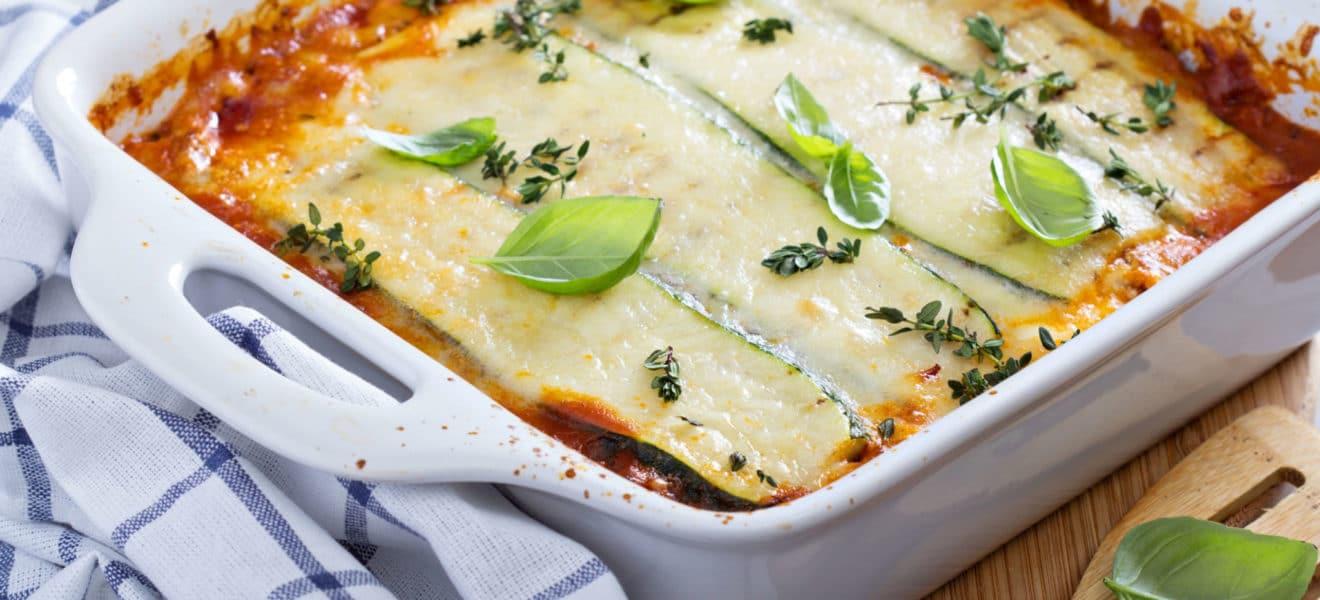 Lavkarbo-lasagne med video