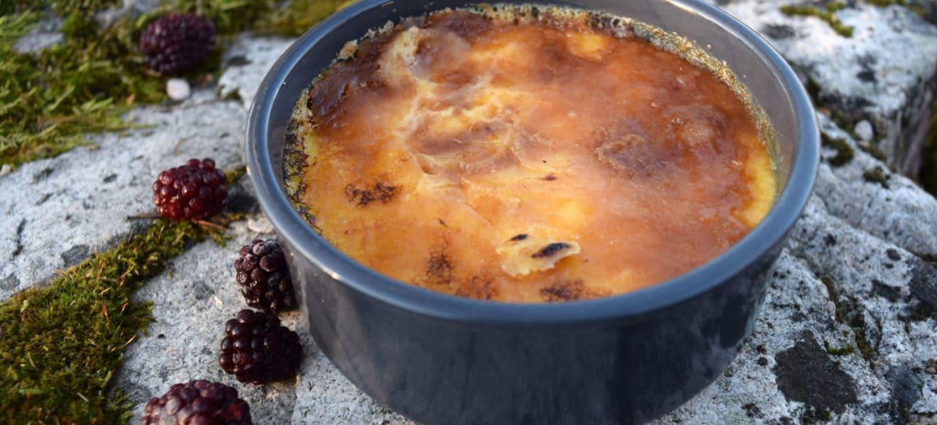 Oppskrift på sukkerfri créme brûlée