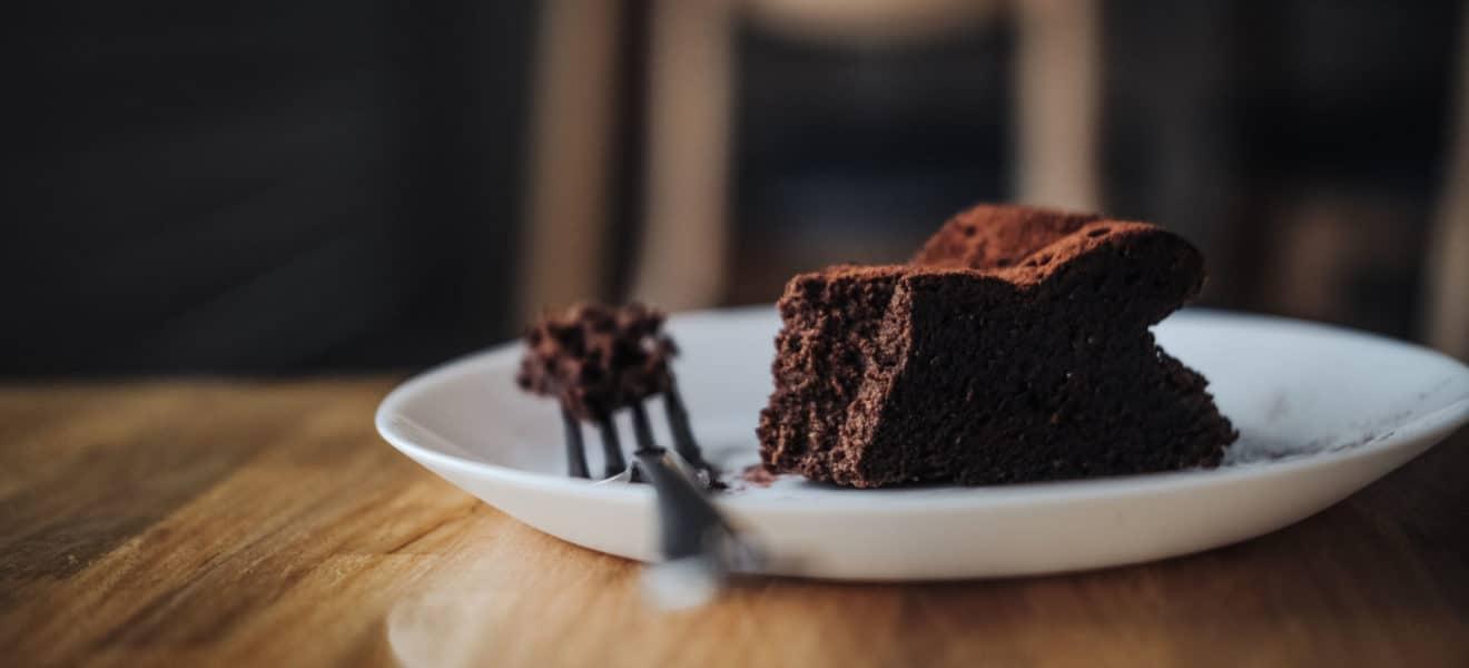 Oppskrift på saftig sukkerfri brownie