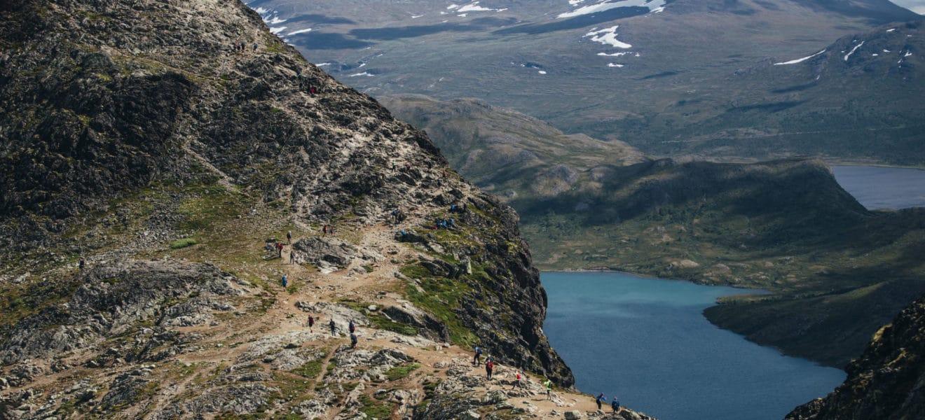 A-ha opplevelse på fjelltur!
