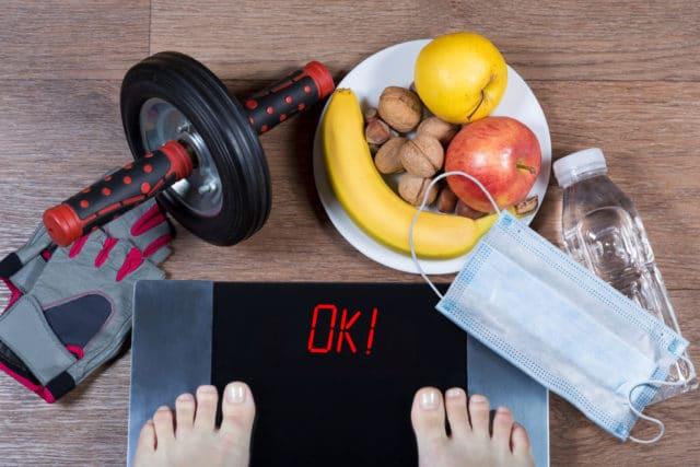 Nytt år og nye muligheter for livsstilsendring. Vekt, sunn mat og trening